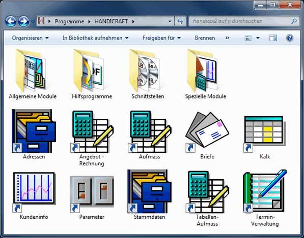 Handwerker-Software Handicraft